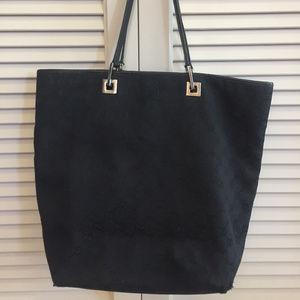 Gucci GG Logo Hobo Bucket Shoulder Bag